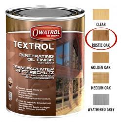 Owatrol Textrol olej saturacyjny do drewna  Kolor Rustic OAK