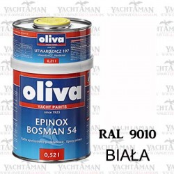 Farba Jachtowa Oliva Bosman 54 BIAŁA RAL 9010