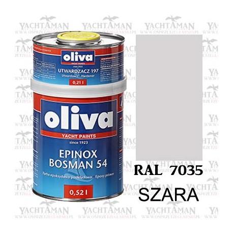 Farba Jachtowa Oliva Bosman 54 SZARA RAL 7035