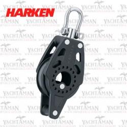 Harken Carbo Air 40mm Blok pojedynczy z krętlikiem i zaczepem