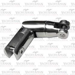 Krętlik kotwicy 6mm - 8mm, 120mm, łamany, podwójny nierdzewny A4