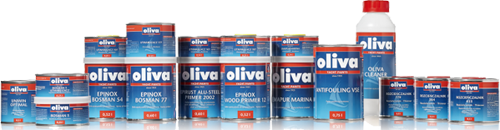 Farby jachtowe Oliva dostępne w sklepie żeglarskim Yachtaman.