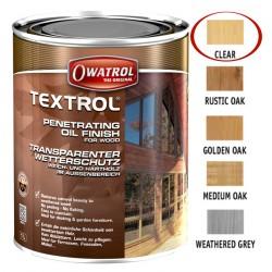 Owatrol Textrol olej saturacyjny do drewna Bezbarwny