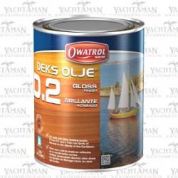 Owatrol D2 1 litr Lakier - Lśniący olej do drewna