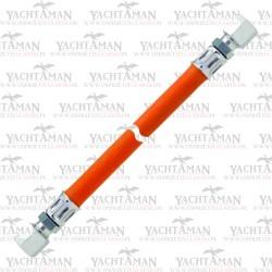 Wąż do gazu RVS 8 x RVS 8 400mm Podłaczenie rurki z rurką