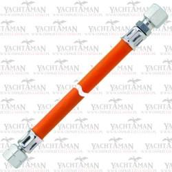 Wąż do gazu 1/4 LH-UEM x RVS 8 400mm Podłaczenie rurki z reduktorem