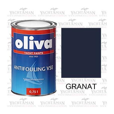 Farba przeciwporostowa Oliva Antifouling VSE GRANAT