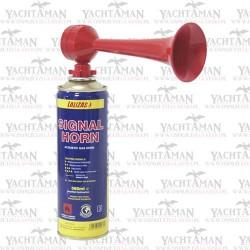 Sygnał dźwiękowy, gazowy, 380ml Trąbka sygnałowa LALIZAS