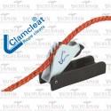Knaga sterowa samowypinająca na linę 4-6mm Clamcleat CL 257