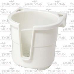 Uchwyt na kubek, napoje i drobne przedmioty Biały
