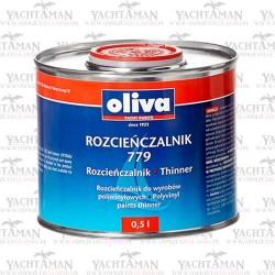 Rozcieńczalnik 779 do farb antyporostowych Oliva Antifouling VSE i Uniwin Optimal