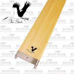 Wiosło pychowe 245 cm, drewniane, do łodzi, jachtu The Stork