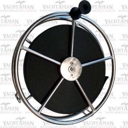 Kołowrót na taśmę kotwiczną 360mm, długość pasa 50m, Bęben kotwiczny, kołowrotek