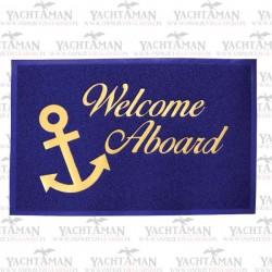 Wycieraczka jachtowa 40x60cm Welcome Aboard - Witamy na pokładzie