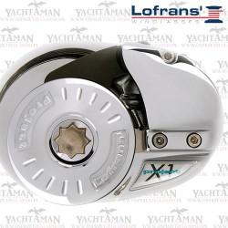 Winda kotwiczna Project X1 700W 12V Lofrans Łańcuch 8mm, Niski profil, Brąz Chromowany