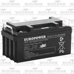Akumulator EUROPOWER EPL 12V 65Ah, Akumulator AGM