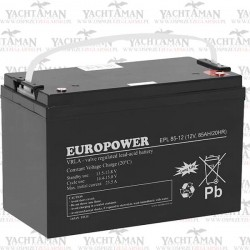 Akumulator EUROPOWER EPL 12V 85Ah, Akumulator AGM
