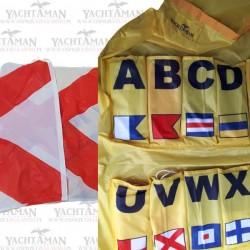 Miedzynarodowy Kod Flagowy, MKS, IMC 40 elementów 50x60cm